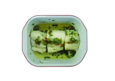 merluzzo con salsa verde