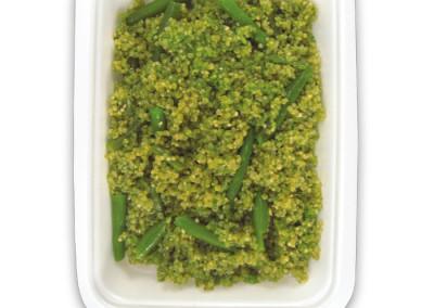 quinoa con pesto e fagiolini